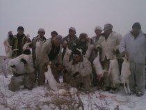 Одна из удачных коллективных охот сезона 2009 года.