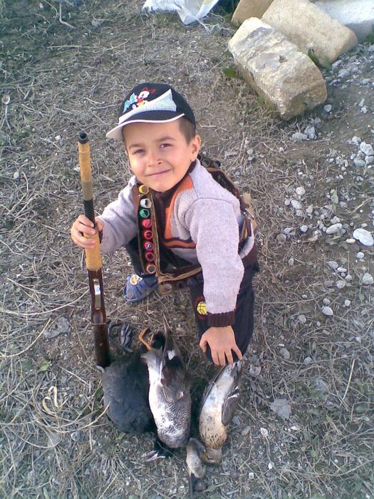 маленкий охотник Тюркел