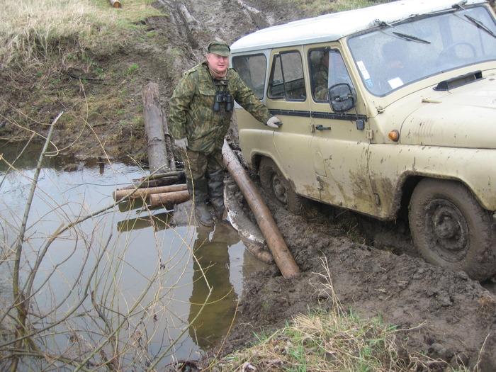 Едем на охоту - щук под колеса подкладываем