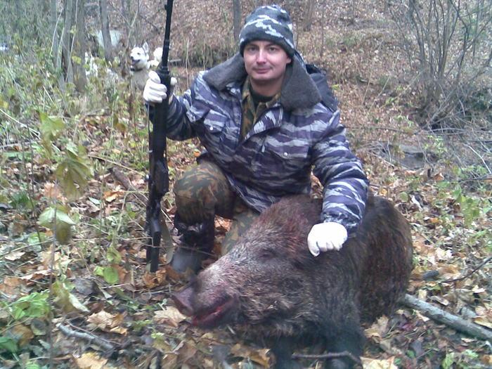 Удачная была охота!