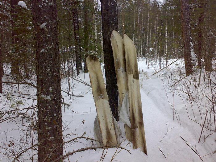 Мои лыжи.