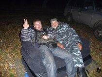 Я и Михалыч.