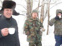 Встреча алтайских охотников