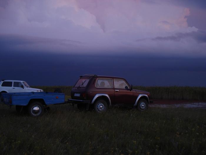 Саргульское, перед открытием на утку 2009г.