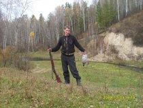 Андрей с рябчиком.