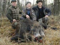 Друг Толька на охоте в Минске