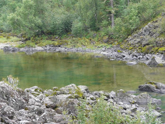 Вода в горах.