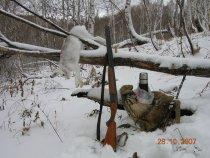 Первый снег 2007-го...