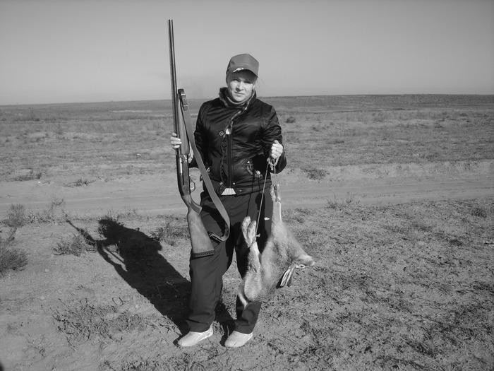 Моя жена уважает охоту! ноябрь 2008г.