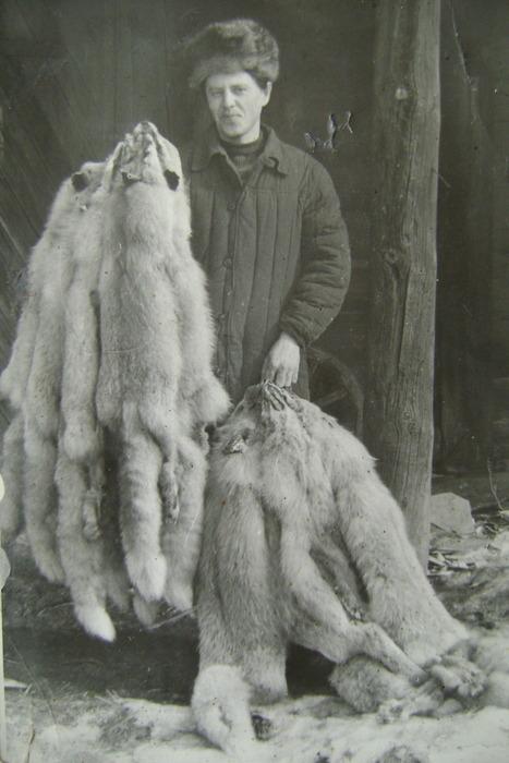 Приемка пушнины 1984г. Горьковская Рзк