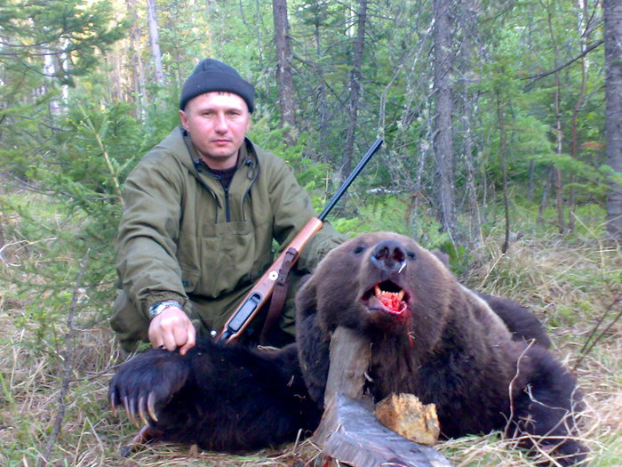 Охата на медведя.
