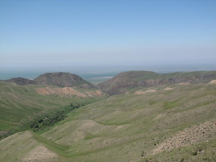 На границе с Кыргыстаном