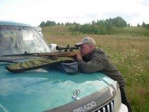 Sibiriak,за пристрелкой карабина.