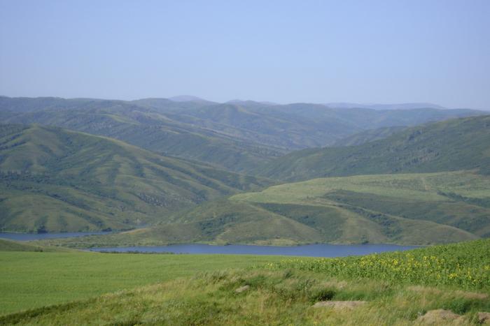 Сопки Рудного Алтая.Бухтарминское водох-ще 08 2010г.