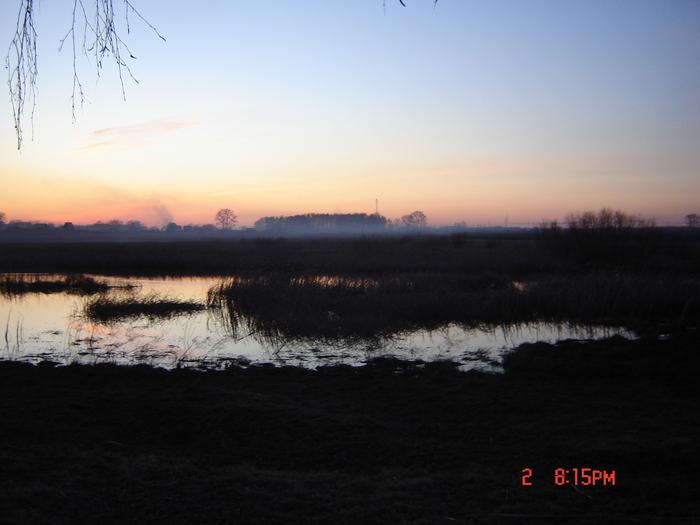 Закат на Ирменке весна 2010г.
