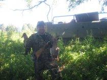 охота в Крапивено. 21.08.2010