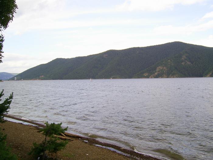 красноярское водохранилище 3