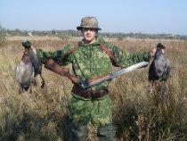Мой первый выход на утиную охоту!!!