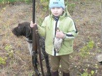 первый раз на охоте