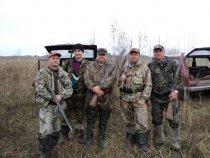 мы собрались на охоту 16.10.10.г
