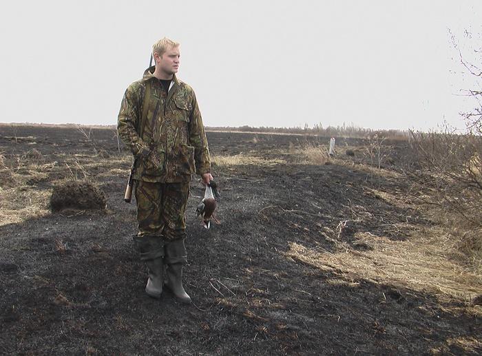 Вот такая была Весна в 2008 в Свердовской области :-( Всё сгорело