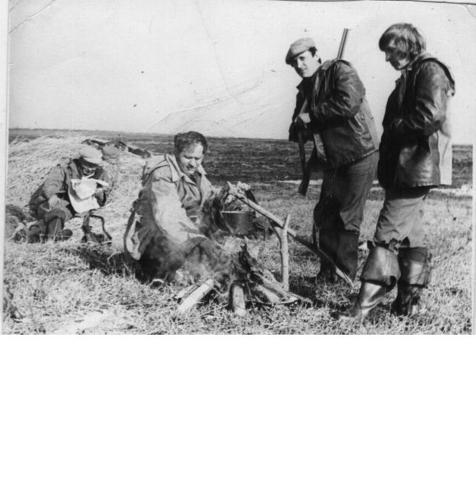 Охотники на привале