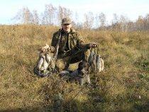 Бородатая куропатка осень 2008