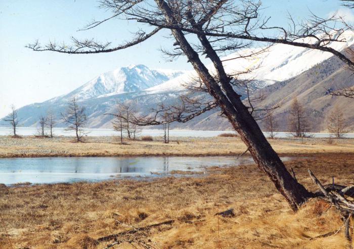 Байкал весной