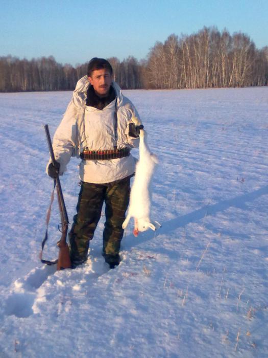 первая охота по снежку