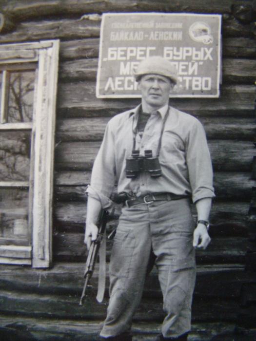 В Байкало-ленском заповеднике