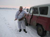 охота на зайца 12.11.10 по первому снегу