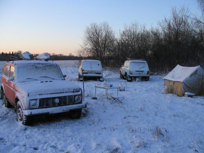 Неожиданная зима