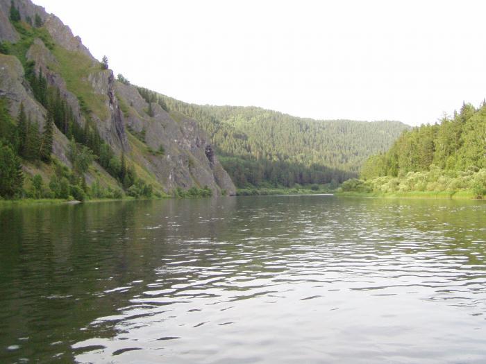 Река Мана. Красноярский край.