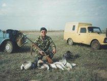 Одна из лучших моих охот на гусей (1999 год)