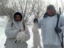 мой первый заяц  2011 г