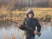 подрастающий охотник