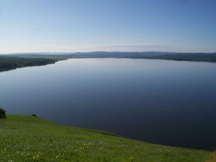 о.Берчикуль Кемеровской области