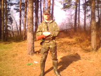 на весенней охоте