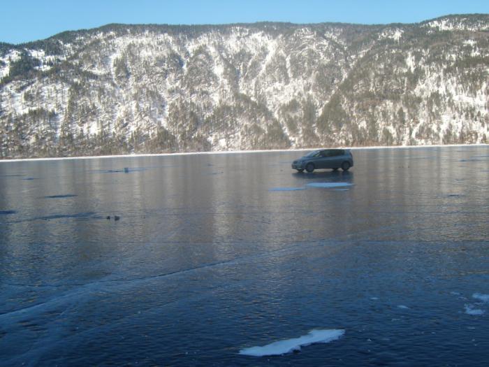 Зима на Телецком 2011г