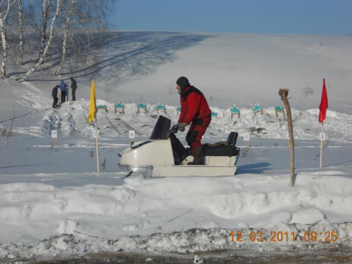 прокладка лыжни