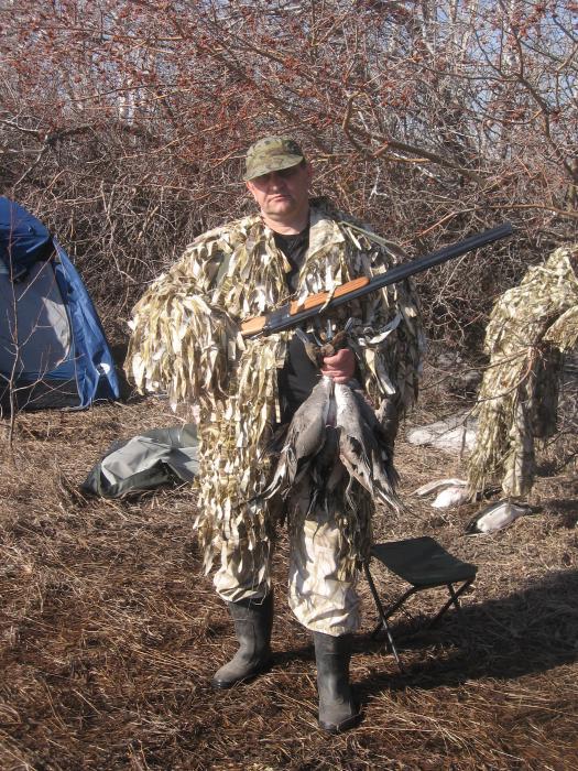 Весенняя охота на шилохвость