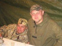 мы с братом на открытии охоты