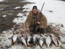 Охота на гусаков 23.04.2011г. г. Сарапул