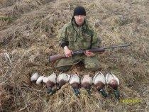Открытие охоты весна 2011