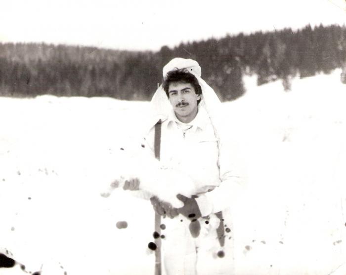 Первый  заяц....  - 1988 год