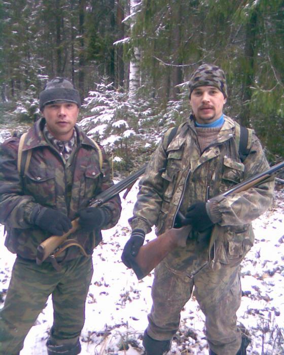 На охоте с братом