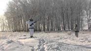 Зимняя охота на зайца с гончими