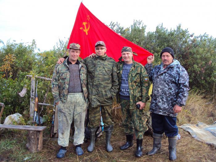 Советские охотники! Открытие осень 2011.