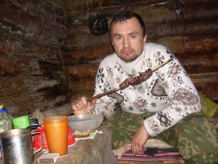 Царский ужин среди тайги