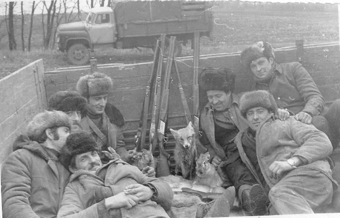История    охоты 20 век.